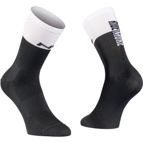 Northwave Work Less Ride More Chaussettes Homme, black/white